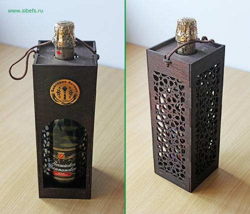 Коробка подарочная №1 для вина