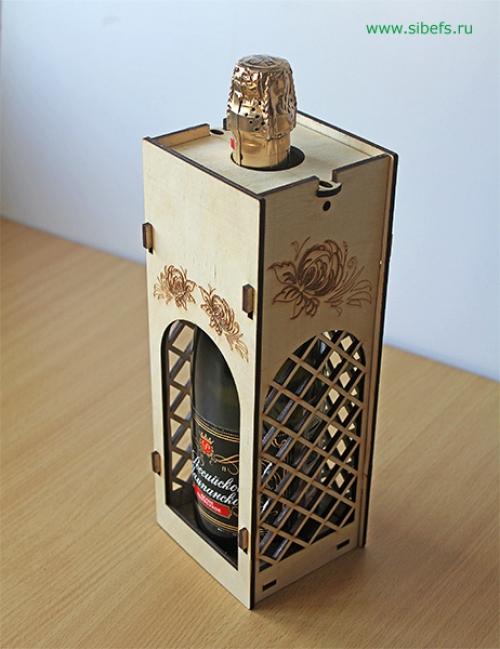 Коробка подарочная №3 для вина