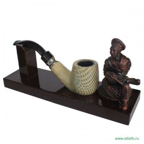 Трубка курительная с моряком