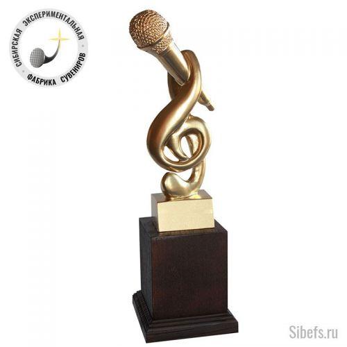 Микрофон (Скрипичный ключ)
