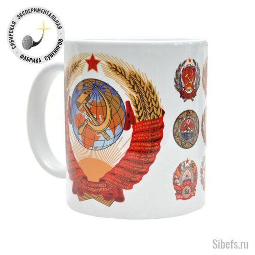 Республики СССР. Гербы