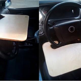 Столик автомобильный на руль